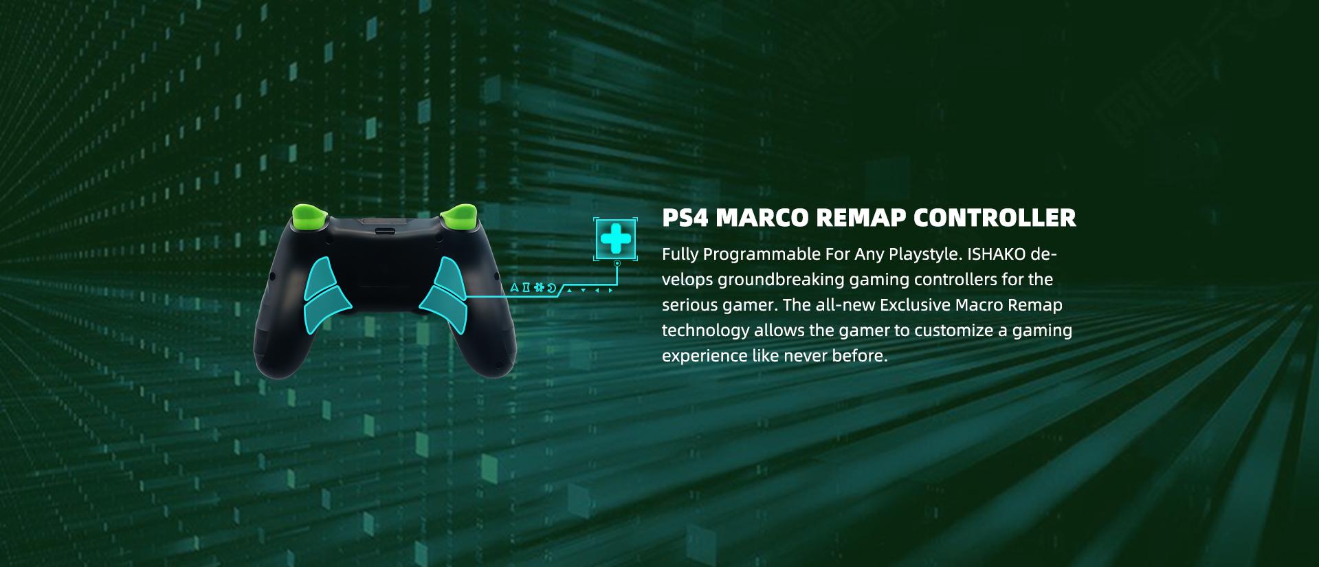 remap macro ps4 controller