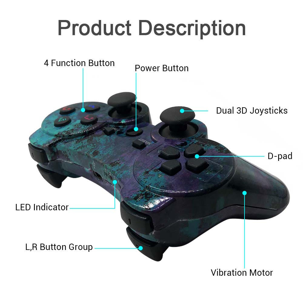 ISHAKO PS3 Controller Wireless