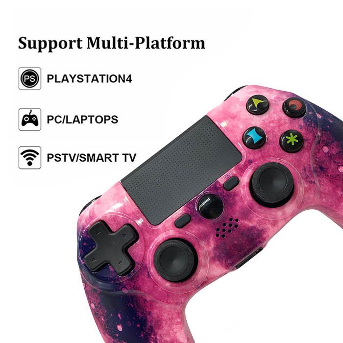 Purple Wireless PS4 Controller
