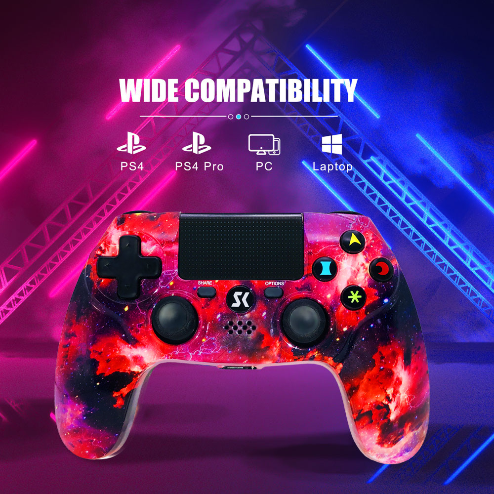 Galaxy Wireless PS4 Game Controller